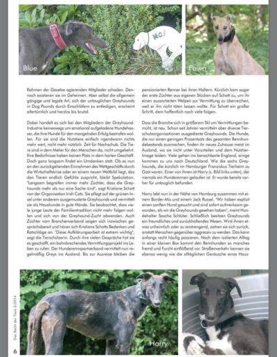 Das Recht der Tiere 2/2014 schnelle hunde - schnelles geld: greyhounds! Seite 2